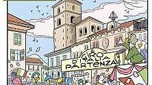 Arriva in Piemonte il Giro d'Italia di Zio Paperone
