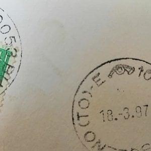 La cartolina spedita da piazza di Spagna arriva in Valsusa dopo 23 anni