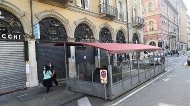 T  orino: corto circuito nella notte a fuoco la storica gelateria Miretti di corso Matteotti