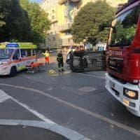 Torino, il ponte e la Fase 2 portano una raffica di incidenti: 10 feriti