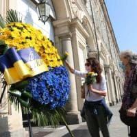 Tre anni dalla tragedia di piazza San Carlo, Torino rende omaggio alle vittime