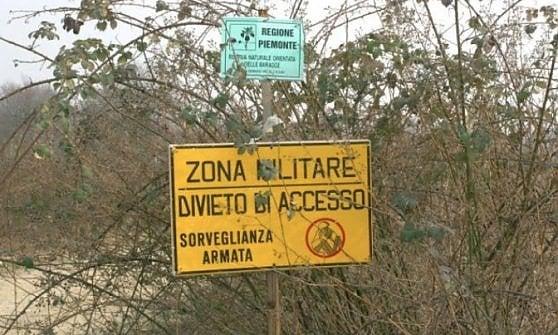 Biella, l'oasi naturalistica protetta della Baraggia invasa da carri armati e cannoni