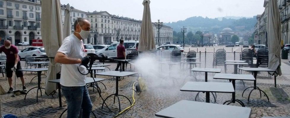 """Torino, il grido di dolore di bar e ristoranti del centro: """"Fermate lo smart working, a pranzo 10mila clienti in meno"""""""
