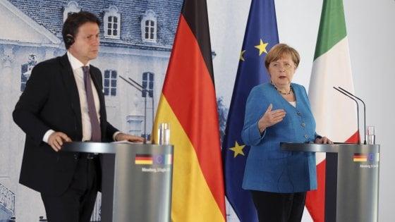 Strage Thyssen, Conte consegna a Merkel la lettera dei famil