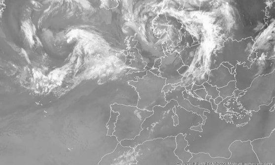 I temporali l'unica tregua in una settimana nel segno del caldo africano