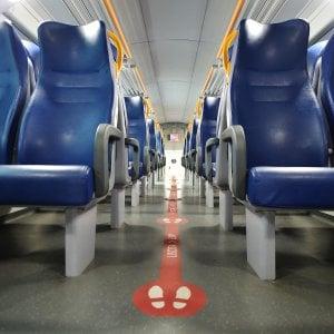 Anche in Piemonte  torna in vigore il distanziamento sui treni regionali