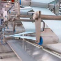 Arrivate a Mirafiori le prime  4 macchine per produrre mascherine chirurgiche