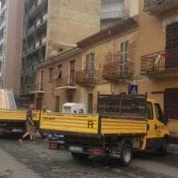 Alessandria, dopo  pioggia e vento, ora c'è l'emergenza amianto volato