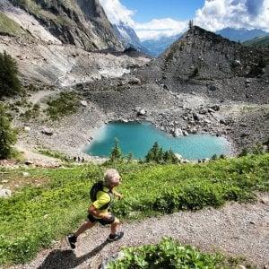 Un camp per il trail running in montagna