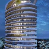 Una torre ellittica da 17 piani, l'ultimo capolavoro Pininfarina