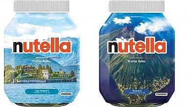 """""""Ti amo Italia"""": il Belpaese sui vasetti  della Nutella per aiutare il turismo    Foto"""