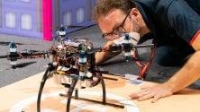 Torino, gara di droni: Politecnico in lizza  con altri cinque atenei  nella sede di Leonardo