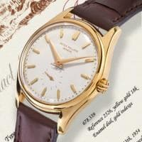 Va all'asta da Bolaffi l'orologio Patek Philippe di Enrico Mattei