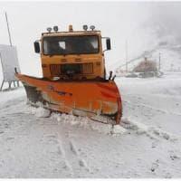 Chiuso per neve il Colle dell'Agnello dove a fine ottobre dovrà passare