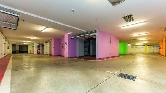 Torino, battuto all'asta per 115mila euro il box auto in centro che sembra una suite