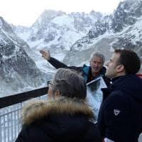 Monte Bianco, cresce la tensione tra Italia e Francia: Macron vuole la vetta