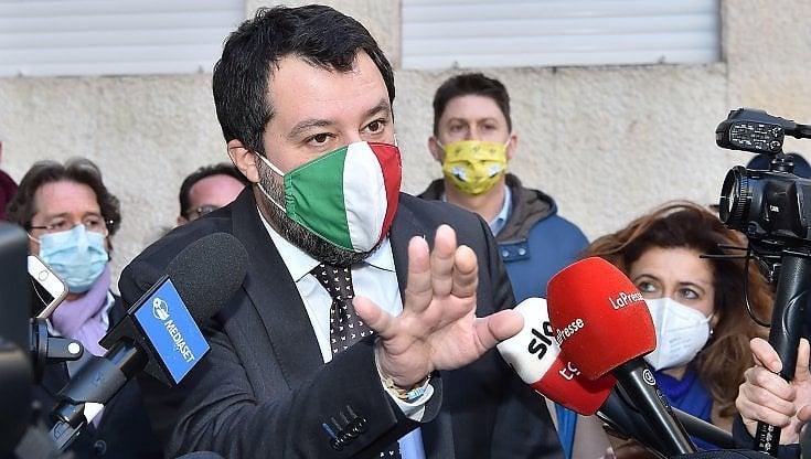 """Lombardia in zona rossa, Salvini da Torino dà la colpa a Speranza: """"Errore suo, si dimetta"""""""