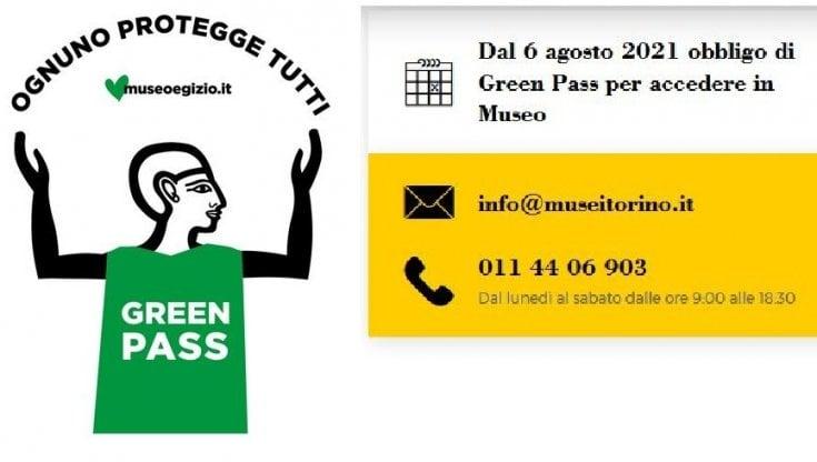 Green Pass, insulti social contro il Museo Egizio di Torino che dal 6 agosto lo chiederà