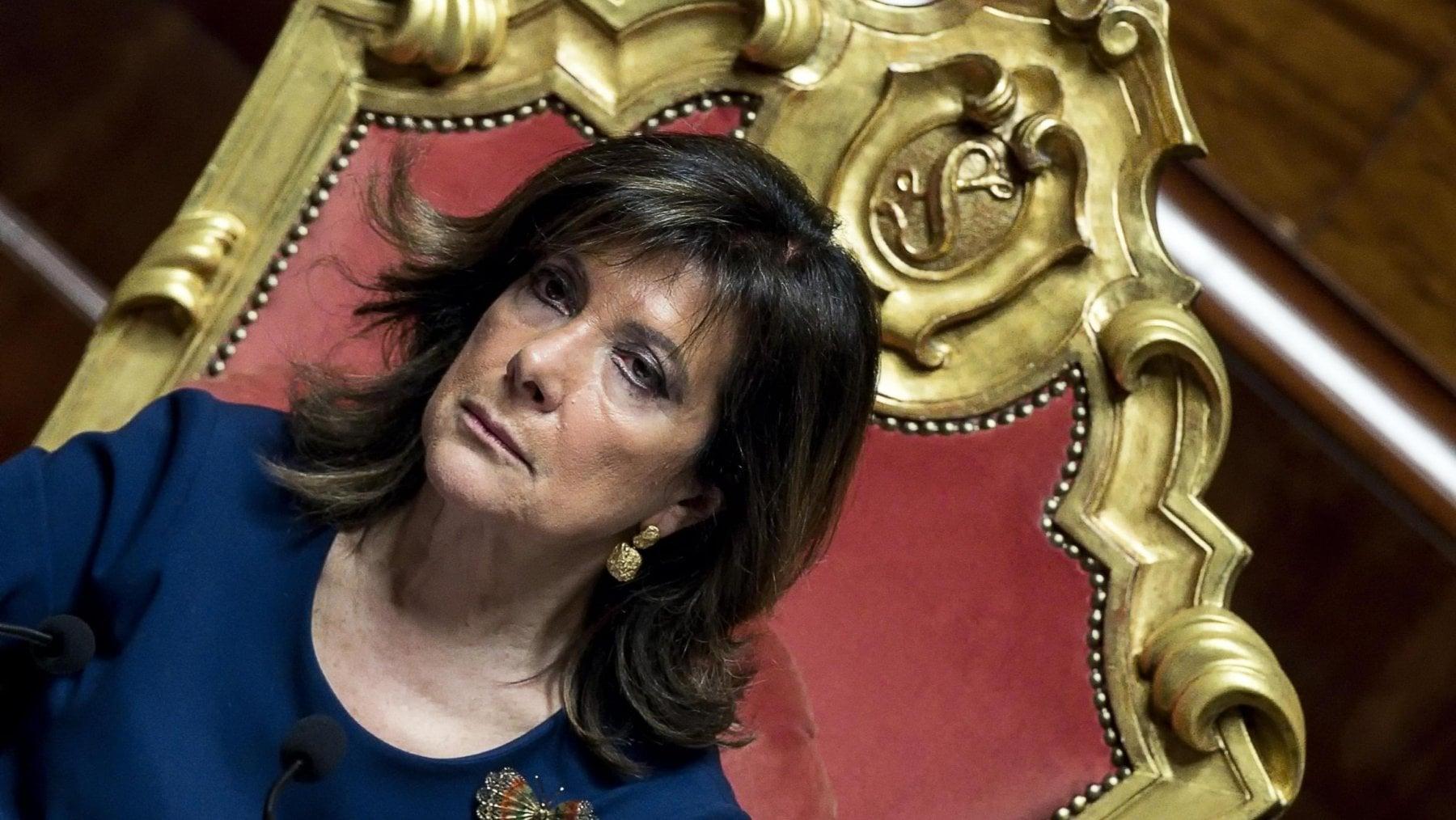 Casellati:Mostruoso personaggio che solo Berlusconi poteva partorire e i PENTADEMENTI che l'hanno votata.