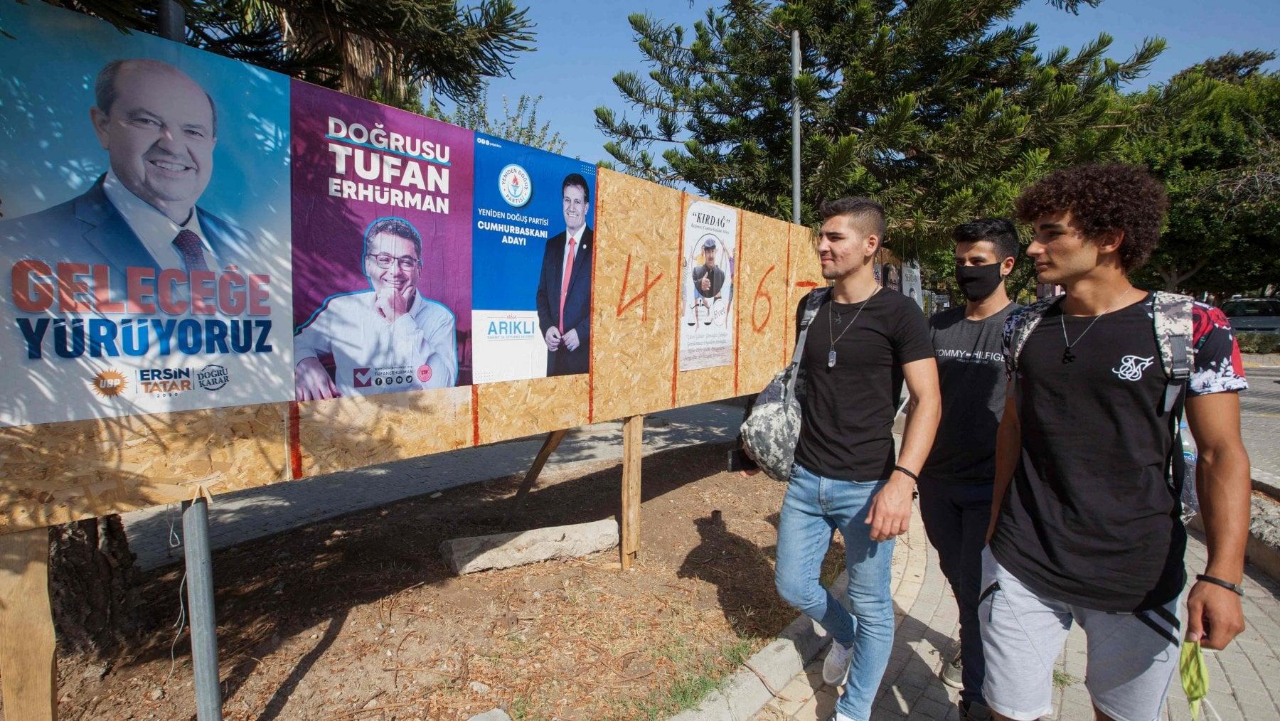 """205559535 ea5478be 4976 4f9d 9f8c e7b78247019c - Cipro Nord, vince l'uomo di Erdogan. Tatar è il nuovo """"presidente"""""""