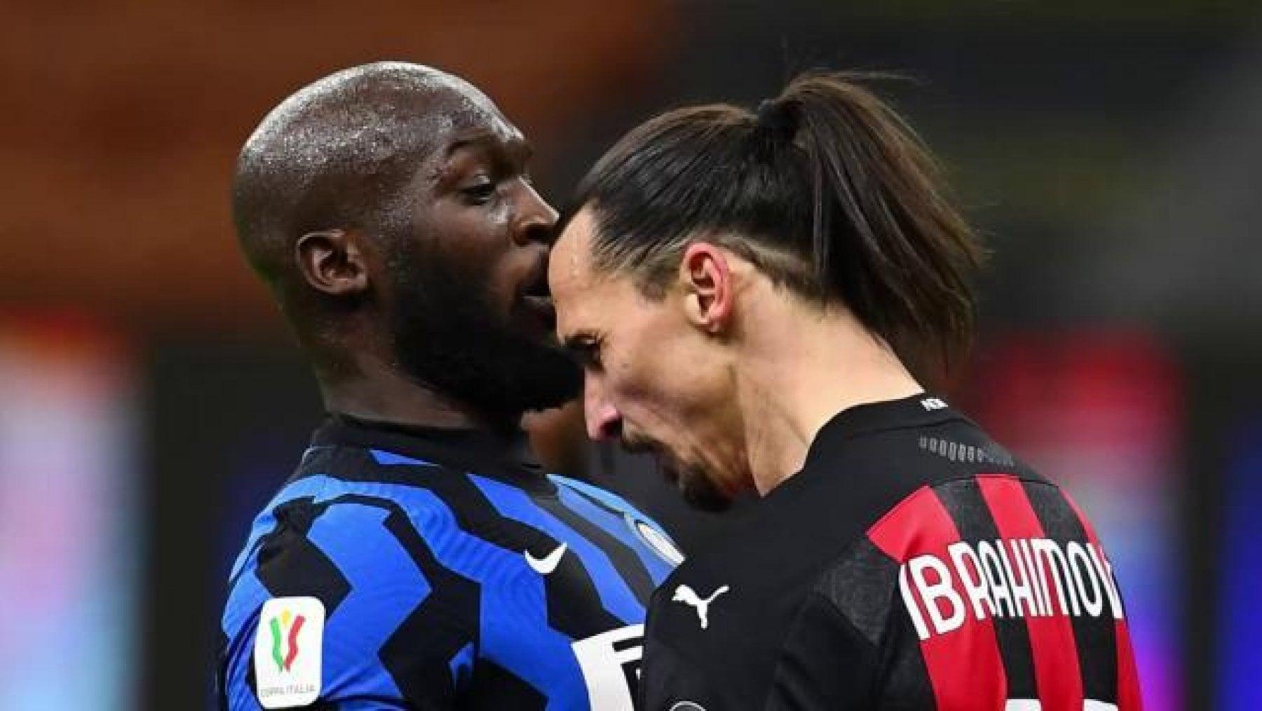 Rissa Ibrahimovic-Lukaku, da Milan e Inter multe in beneficenza