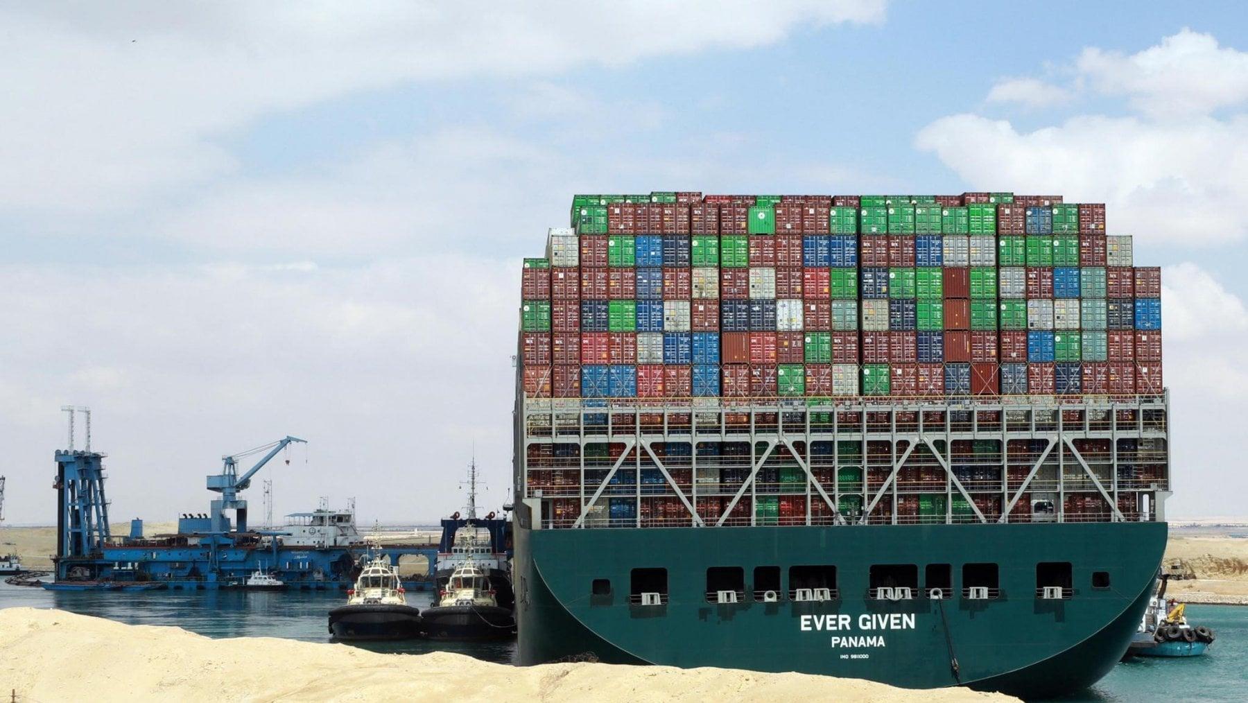 223607561 c89ba870 45f5 4915 a560 abfb25f46082 - Egitto, la nave Ever Given lascia il Canale di Suez e fa rotta verso Amsterdam