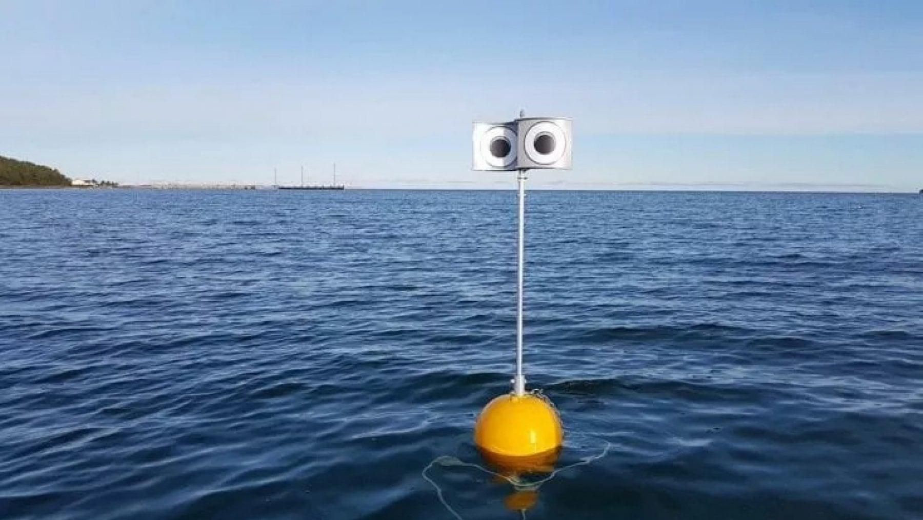 Il robot galleggiante che salva gli uccelli dalle reti da pesca