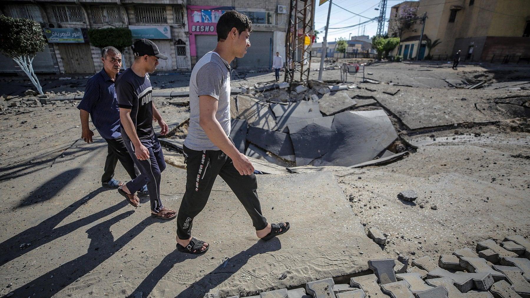 220211581 87a01cf1 06fc 4185 8452 f62bfeb0b2d0 - Gaza, notte di raid: colpiti 150 obiettivi di Hamas
