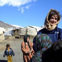 Laura Boldrini, il fotoracconto di una vita tra i rifugiati