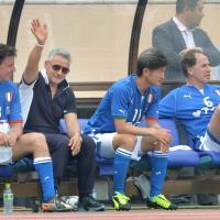 """Baggio, Schillaci & Co, le """"glorie azzure"""" sfidano i giapponesi"""