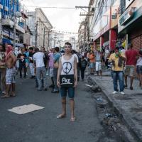 Scontri in Brasile, il racconto del fotografo Antonello Veneri