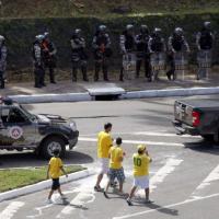 Italia-Brasile, a Salvador stadio blindato