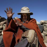 L'uomo più vecchio del mondo che vive sulle Ande