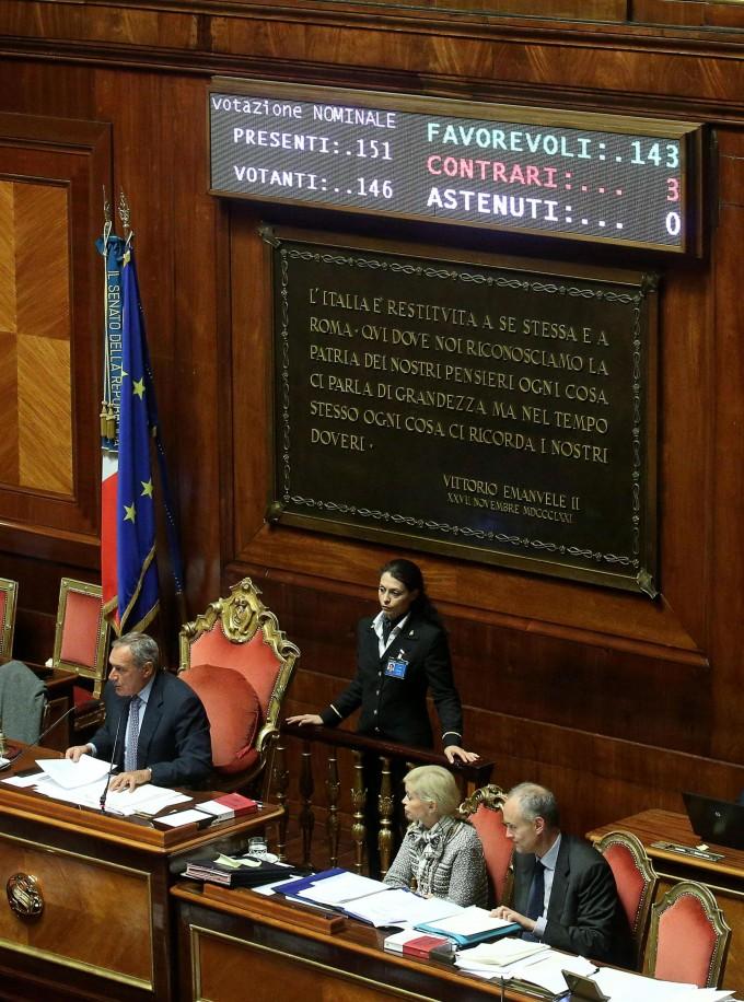 Femminicidio, ok lampo del Senato.<br />Sì definitivo del Parlamento al decreto legge