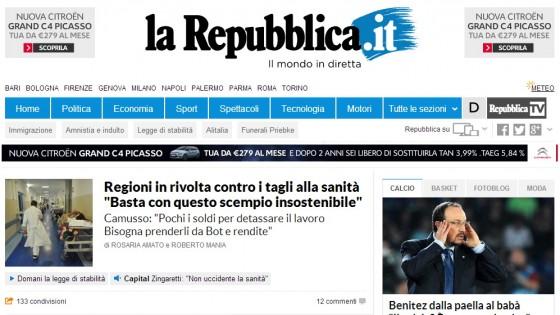 Più video e social, la nuova Repubblica.it