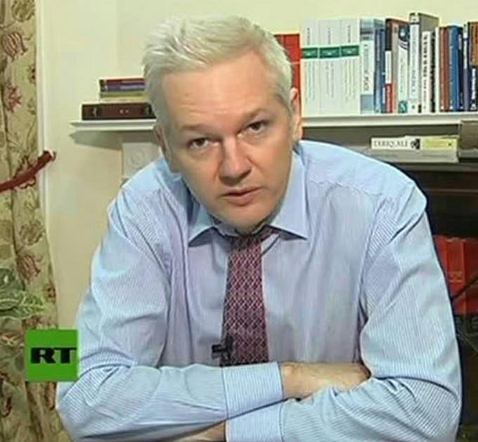 """Julian Assange<br />""""Wikileaks: Hollywood <br />vuole demolirmi con un film"""""""