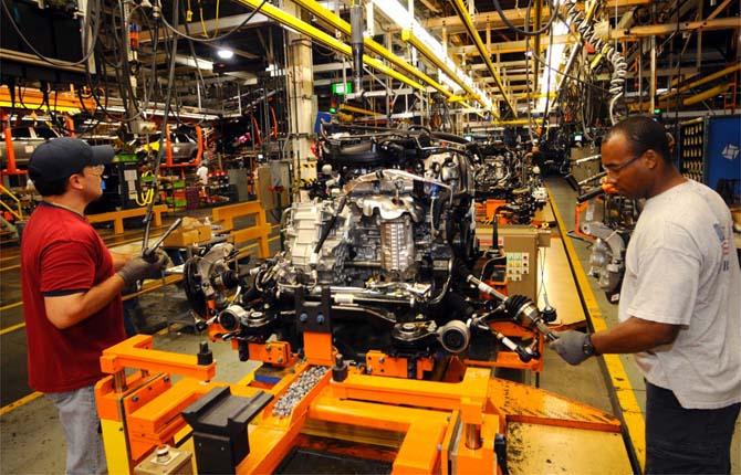 Ford Festeggia I Cento Anni Della Catena Di Montaggio