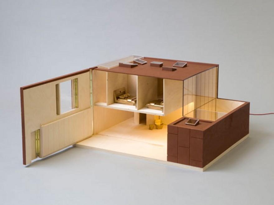 Foto gb case di bambole d 39 autore le firmano architetti e for Case di architetti