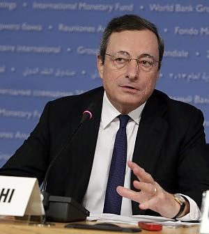 """Lettera segreta di Draghi alla Ue:  """"No al giro di vite sui bond bancari"""""""
