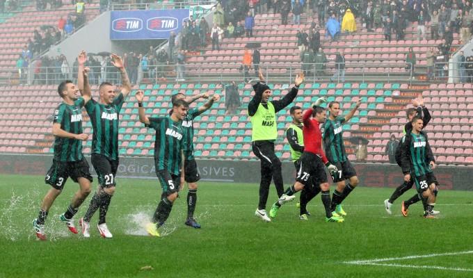 Sassuolo-Bologna 2-1, primo storico successo per i neroverdi