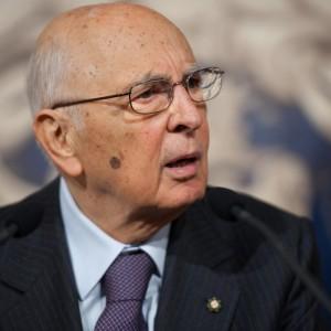 """Napolitano: """"Calunnie destabilizzano il governo. Riforme frenate"""""""
