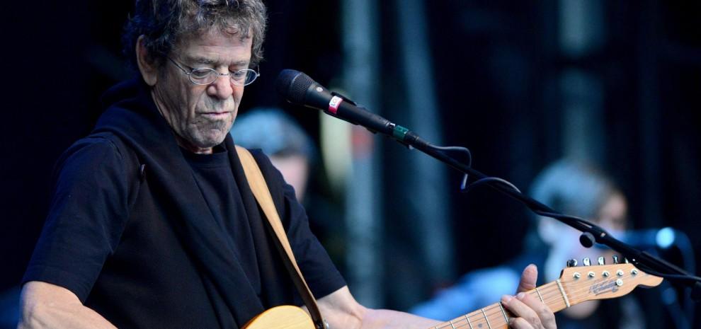 Lou Reed, l'arte di stupire: tre accordi, rumore, glam, punk, metal... let's rock!