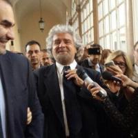 Grillo arriva a Palazzo Madama: le foto su Twitter