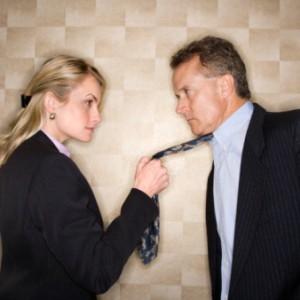 L'uomo soffre la donna in carriera