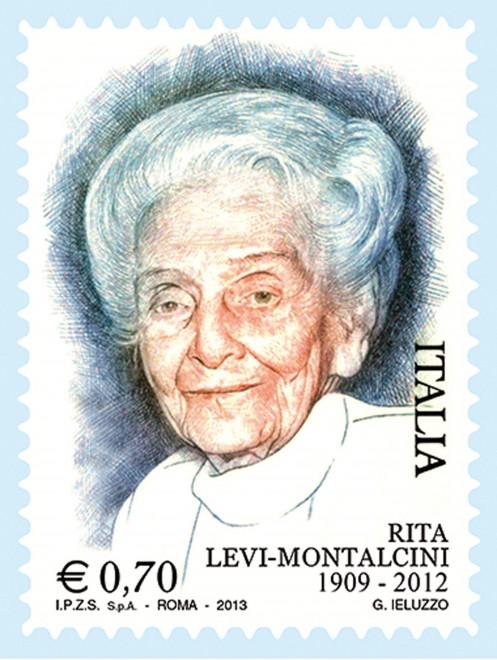 Un francobollo per Rita Levi Montalcini