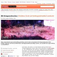 La notizia della tomba segreta di Priebke sui siti internazionali