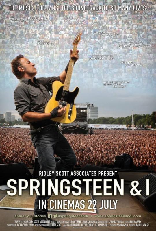 """""""Springsteen & I"""", il docufilm sul legame tra il Boss e i suoi fan: una storia di famiglia..."""