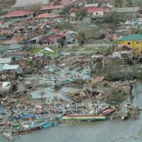 Filippine, la devastazione vista dall'alto