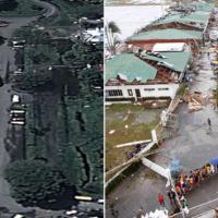 Haiyan, Filippine: prima e dopo il tifone