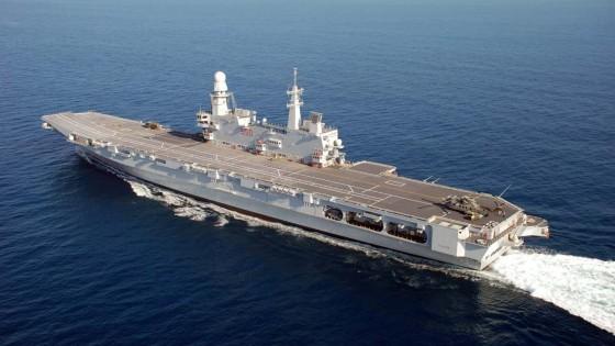 """Sel denuncia: """"La portaerei Cavour in Africa a vendere armi anche a paesi in guerra"""""""